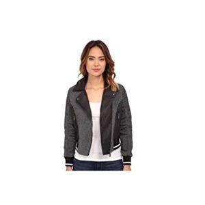 Jackets & Blazers - Mila Twill Moto Jacket